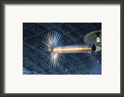 Udvar-hazy Center - Smithsonian National Air And Space Museum Annex - 121262 Framed Print By Dc Photographer