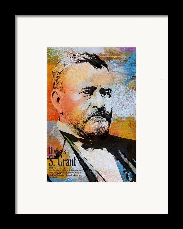 Ulysses S. Grant Framed Print By Corporate Art Task Force