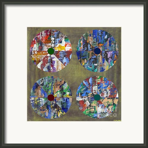 Umbrellas Framed Print By Patrick J Murphy