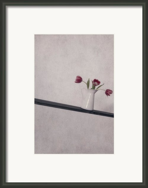 Unbalanced Flowers Framed Print By Joana Kruse