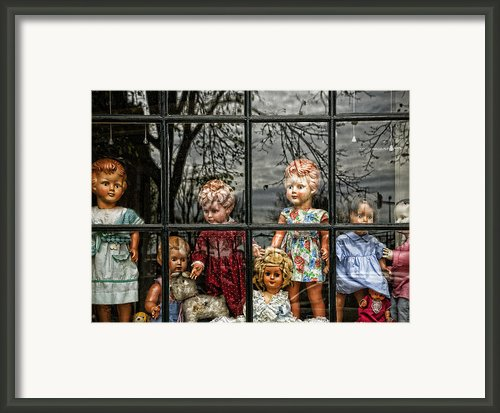 Uncertainty Framed Print By Joanna Madloch