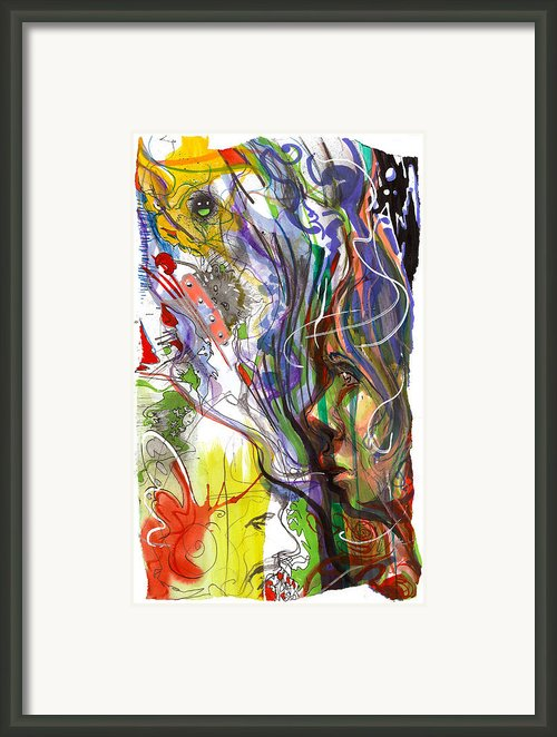 Uncertainty Framed Print By Ryan Irish