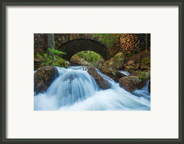 Under The Bridge Framed Print By Joseph Rossbach