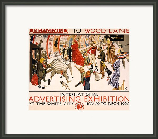 Underground To Wood Lane To Anywhere Framed Print By Nomad Art And  Design