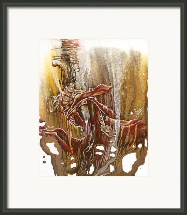 Undertake Framed Print By Karina Llergo Salto