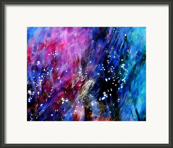 Underwater Galaxy Framed Print By Terril Heilman