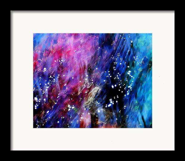 Underwater Galaxy Framed Print By Terril Heilman