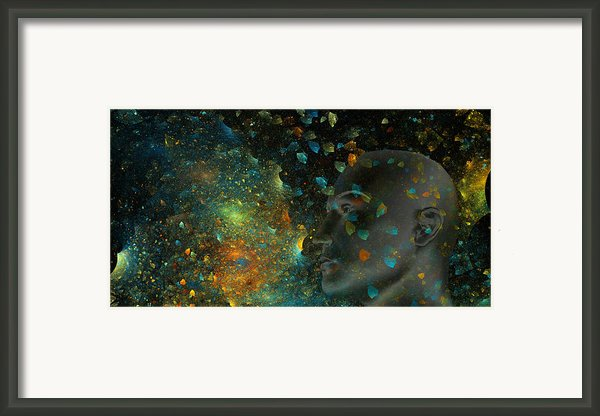 Universal Mind Framed Print By Betsy A Cutler Islands And Science