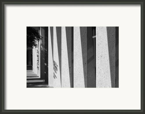 University Of Illinois At Chicago Lecture Halls Framed Print By University Icons