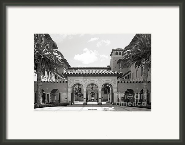 University Of Southern California School Of Cinematic Arts Framed Print By University Icons