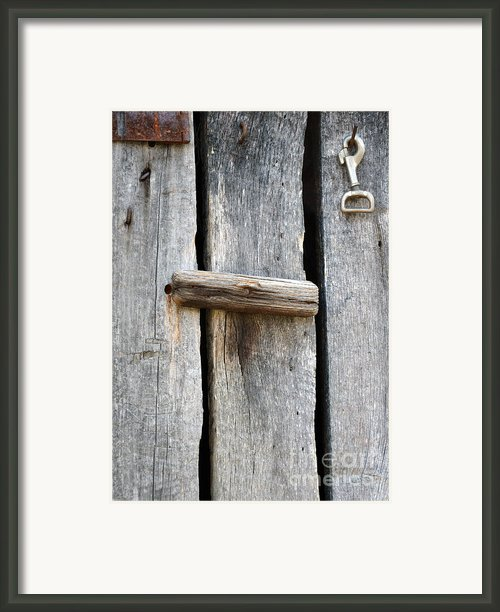 Unlock The Past Framed Print By Brenda Dorman