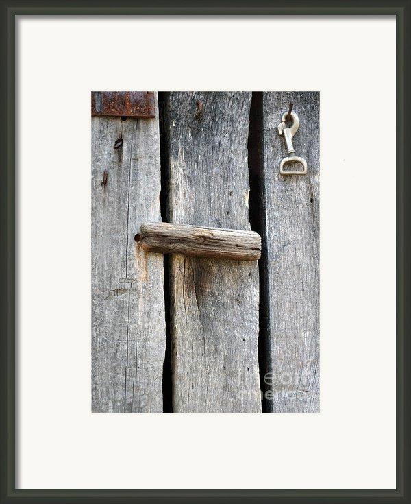 Unlock The Past Framed Print By Brenda Dorman