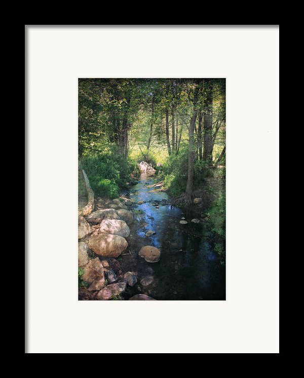 Until I Loved You Framed Print By Laurie Search