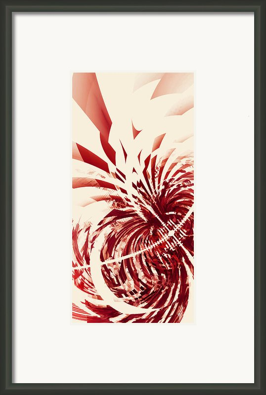 Untitled Red Framed Print By Scott Norris
