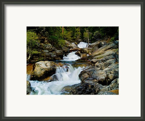 Up The Creek Framed Print By Bill Gallagher