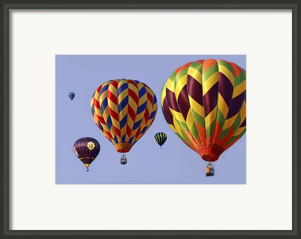 Up Up And Away Framed Print By Marcia Colelli
