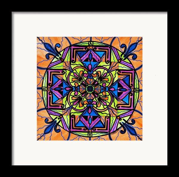 Uplift Framed Print By Teal Eye  Print Store