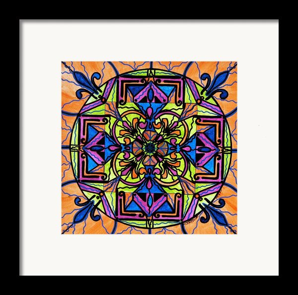 Uplift Framed Print By Teal Eye  Print Store