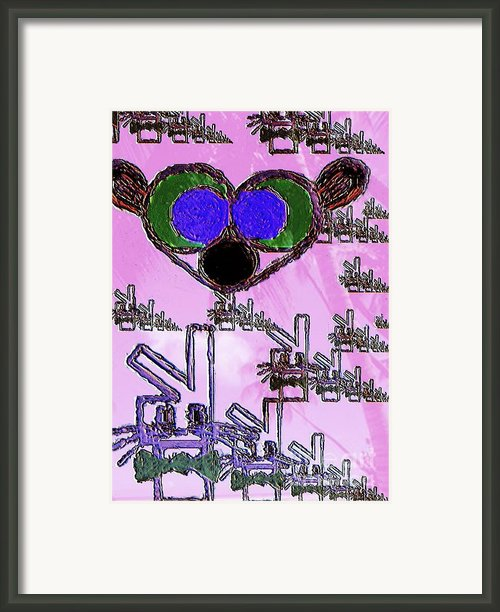 Uprising Framed Print By Navo Art