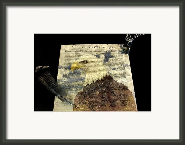 Usa Framed Print By Jack R Perry
