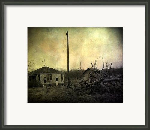 Used To Be Framed Print By Gothicolors And Crows