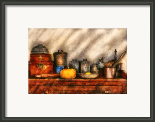 Utensils - Kitchen Still Life Framed Print By Mike Savad