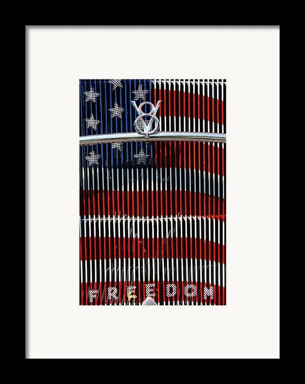 V8 Freedom Framed Print By Jani Freimann