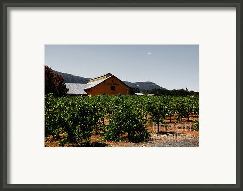 Valley Of The Moon Sonoma California 5d24485 V2 Framed Print By Wingsdomain Art And Photography