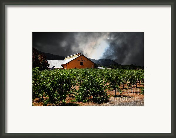 Valley Of The Moon Sonoma California 5d24485 Framed Print By Wingsdomain Art And Photography