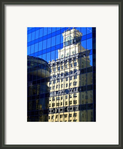 Vancouver Reflections 4 Framed Print By Randall Weidner