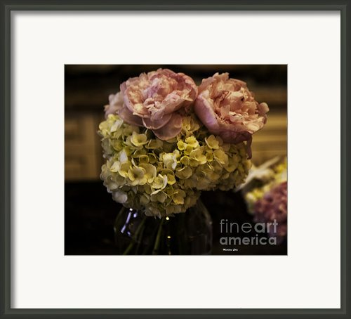 Vase Of Flowers Framed Print By Madeline Ellis