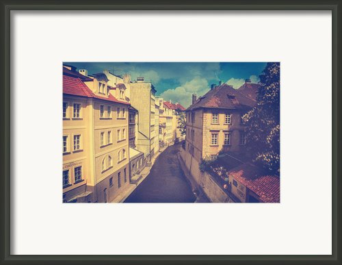 Venice In Prague Framed Print By Taylan Soyturk