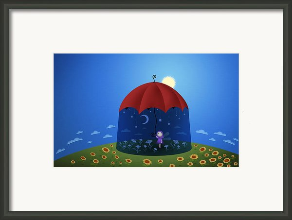 Very Own Night Framed Print By Sanely Great