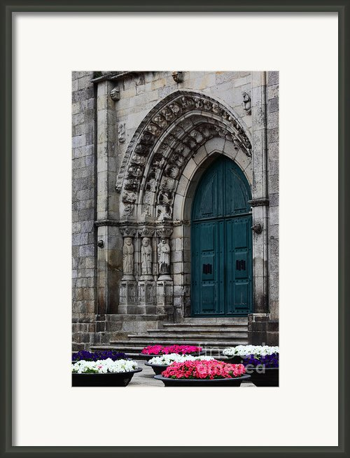 Viana Do Castelo Cathedral Framed Print By James Brunker