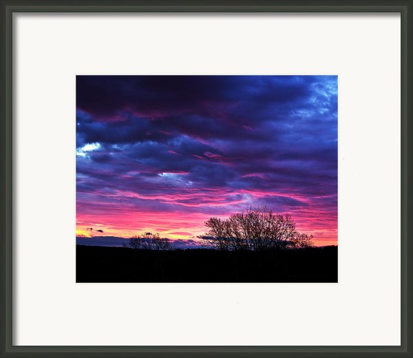 Vibrant Sunrise Framed Print By Tim Buisman