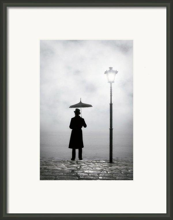 Victorian Man Framed Print By Joana Kruse