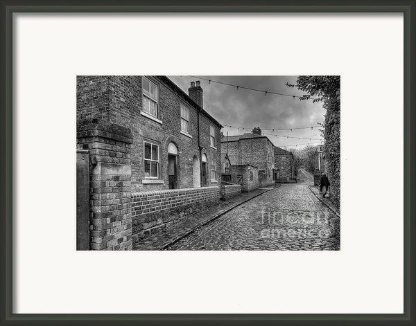 Victorian Street Framed Print By Adrian Evans