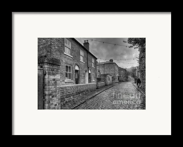 Victorian Street Framed Print By Adrian Evans