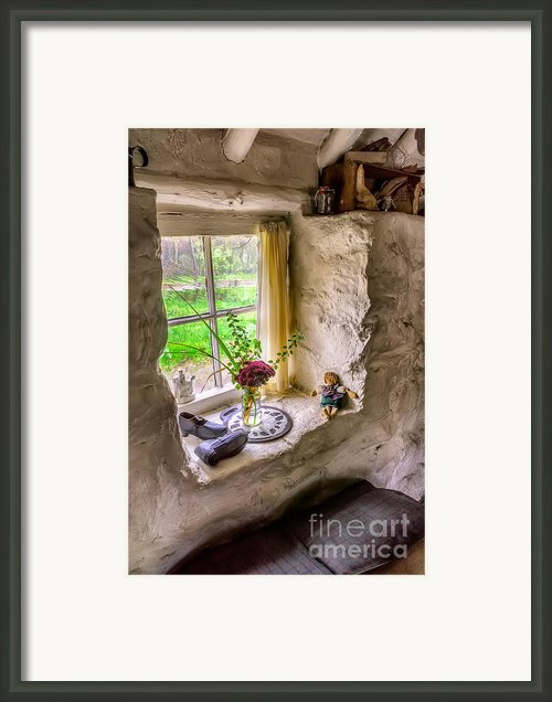 Victorian Window Framed Print By Adrian Evans