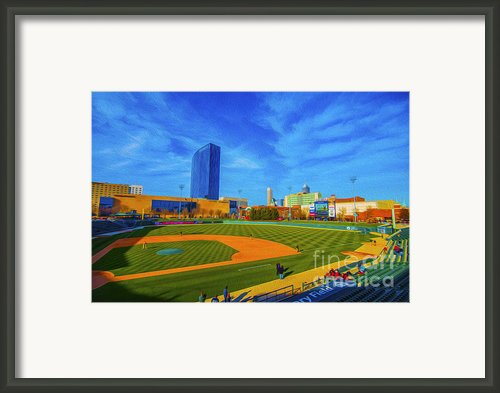Victory Field 2 Framed Print By David Haskett