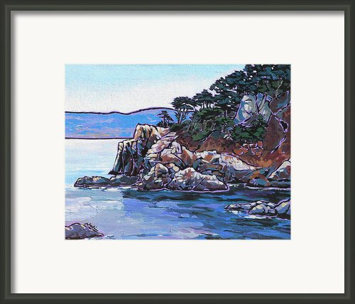 View From Point Lobos Framed Print By Nadi Spencer
