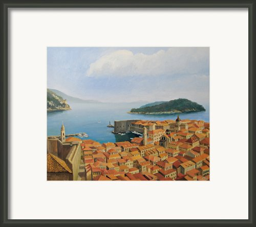 View From Top Of The World Framed Print By Kiril Stanchev