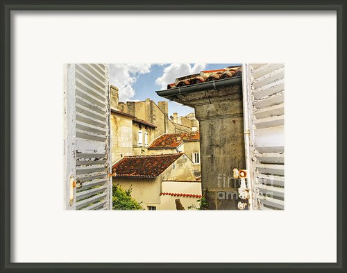 View In Cognac Framed Print By Elena Elisseeva
