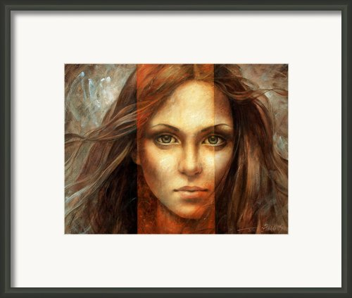 View Of Eternity Framed Print By Arthur Braginsky