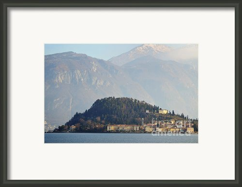Village Bellagio Framed Print By Mats Silvan