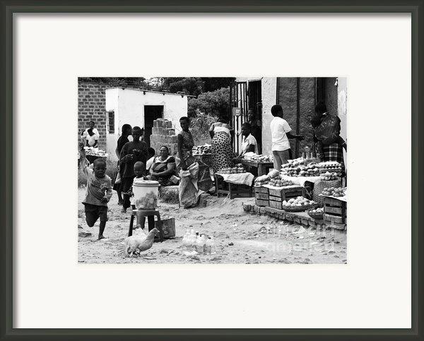 Village Life Framed Print By Aidan Moran