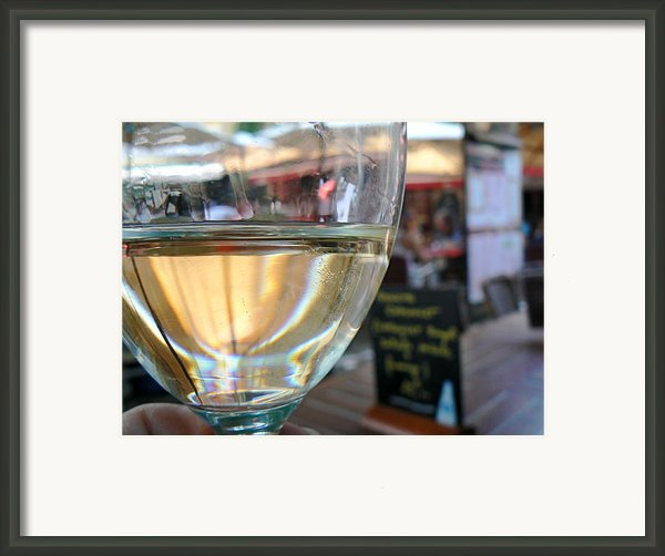 Vin Blanc Framed Print By France  Art