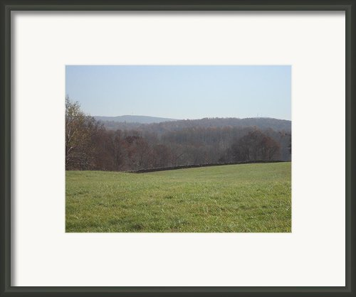 Vineyards In Va - 121235 Framed Print By Dc Photographer