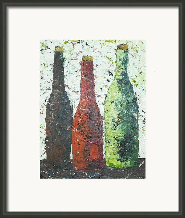 Vino 2 Framed Print By Phiddy Webb