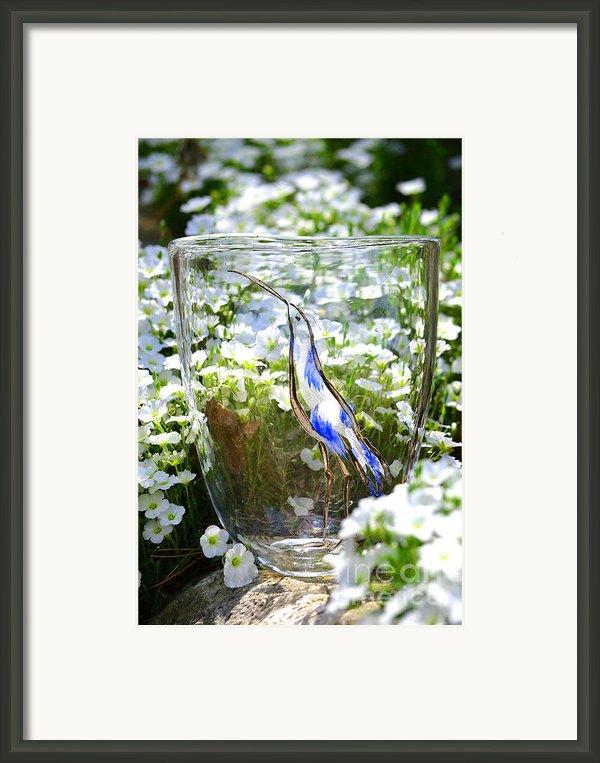 Vinsanchi Glass Art-3 Framed Print By Vin Kitayama